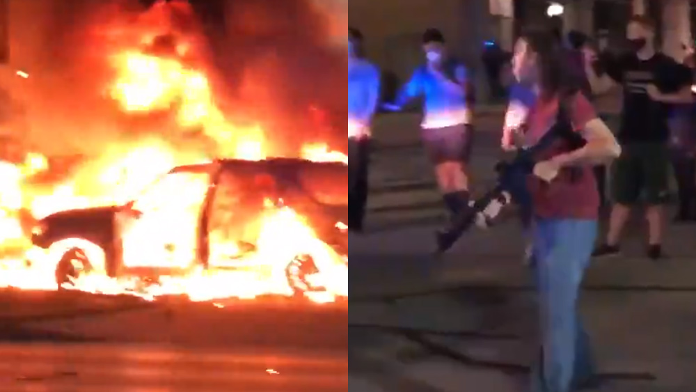 Image: ENOUGH! It's time for law enforcement to begin SHOOTING violent terrorists and rioters who are trying to burn America to the ground