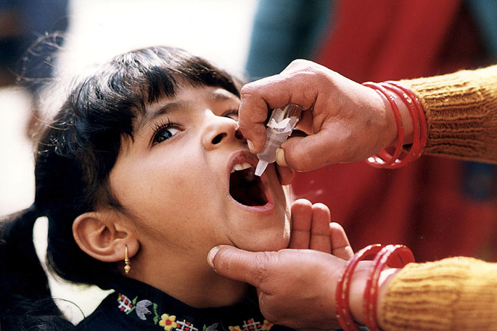 Image: Instead of preventing the disease, polio vaccinations CAUSE polio