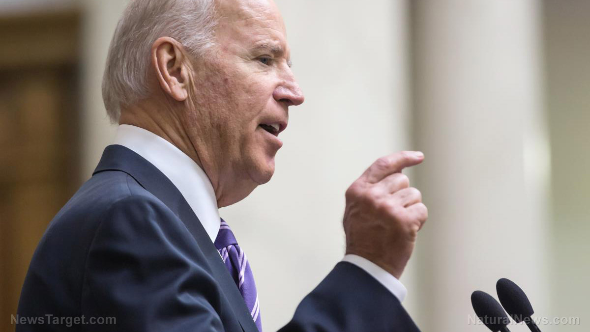 "Image: Video surfaces of Biden calling troops ""stupid bastards"" when they won't clap"