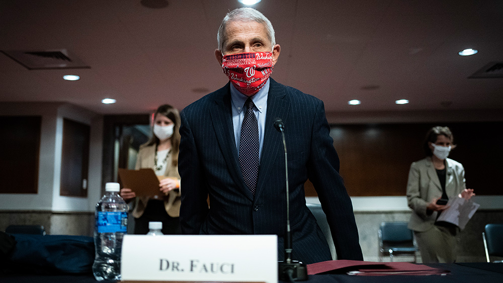 Image: Citizens group demands investigation into Fauci, NIAID for conspiring with communist China over development of coronavirus bioweapon