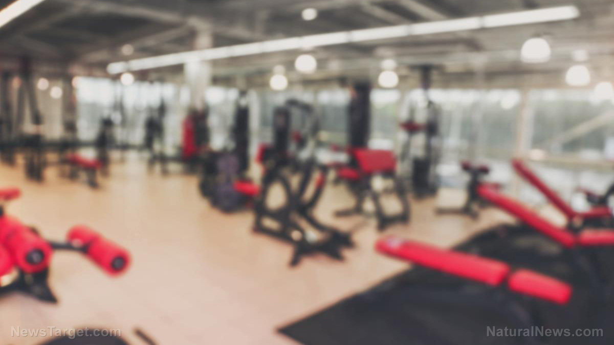 Image: It's not just Pelosi and Salongate: Government GYMS have also been open for months (while private sector gyms were forced to close)