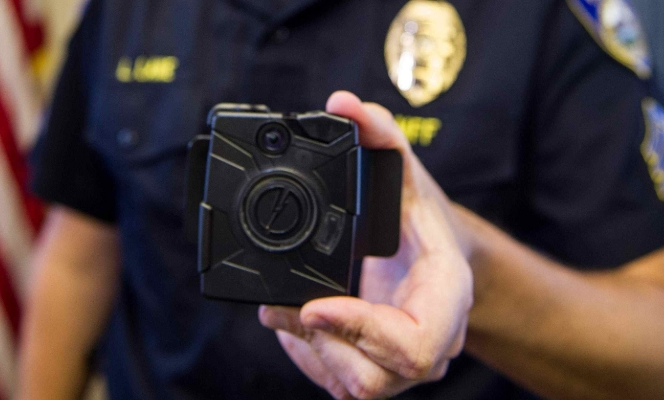 """Image: """"Privacy apocalypse"""" averted… for now: California bans the use of facial recognition tech on recordings from police officer cameras"""
