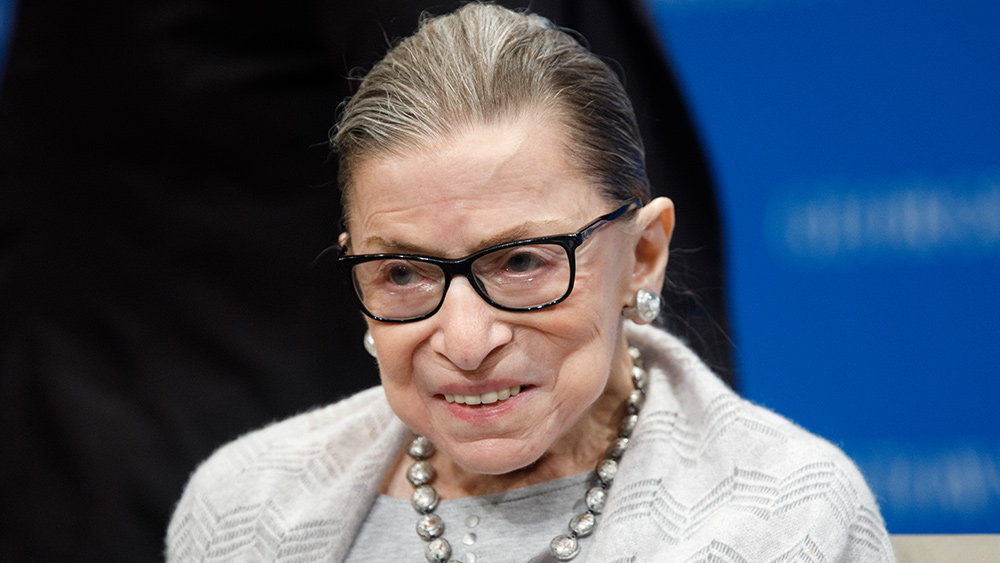 Image: Ginsburg died peacefully, unlike the tens of millions of babies whose violent murder she advocated