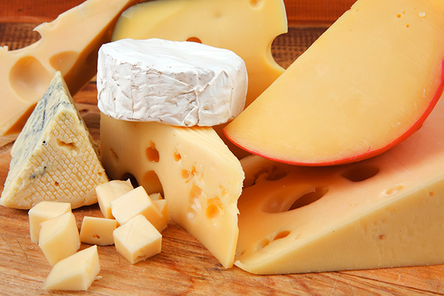 Image: Natural antioxidants in cheese can protect your blood vessels from damage caused by high-salt diets