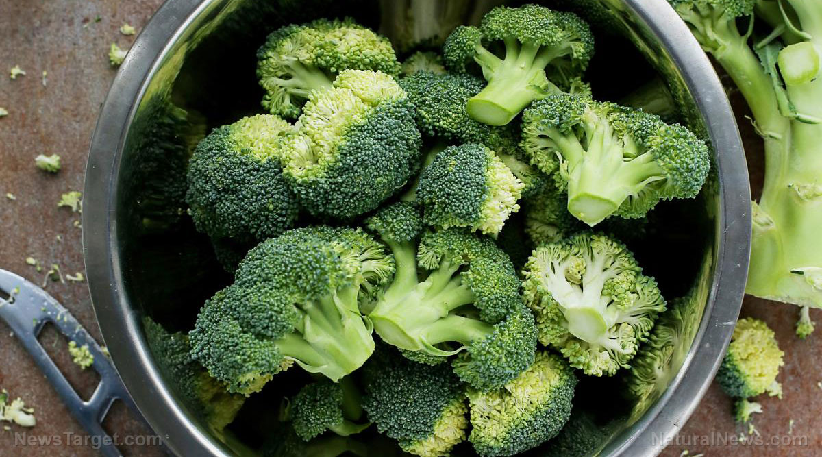 Image: Analysis of broccoli florets reveals what phytochemicals are present in young and mature broccoli