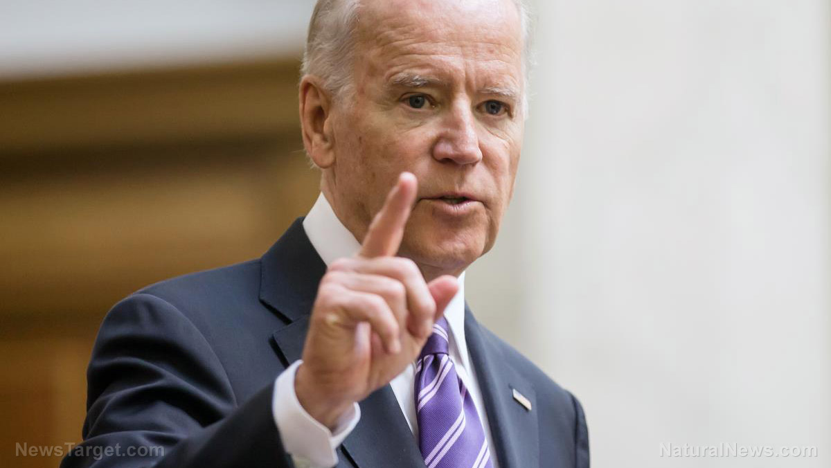 Image: This is why Christians across America should NEVER vote for Joe Biden: Joe Biden is a DANGEROUS pathological liar who doubles down when he's called out on a lie by blatantly lying again!