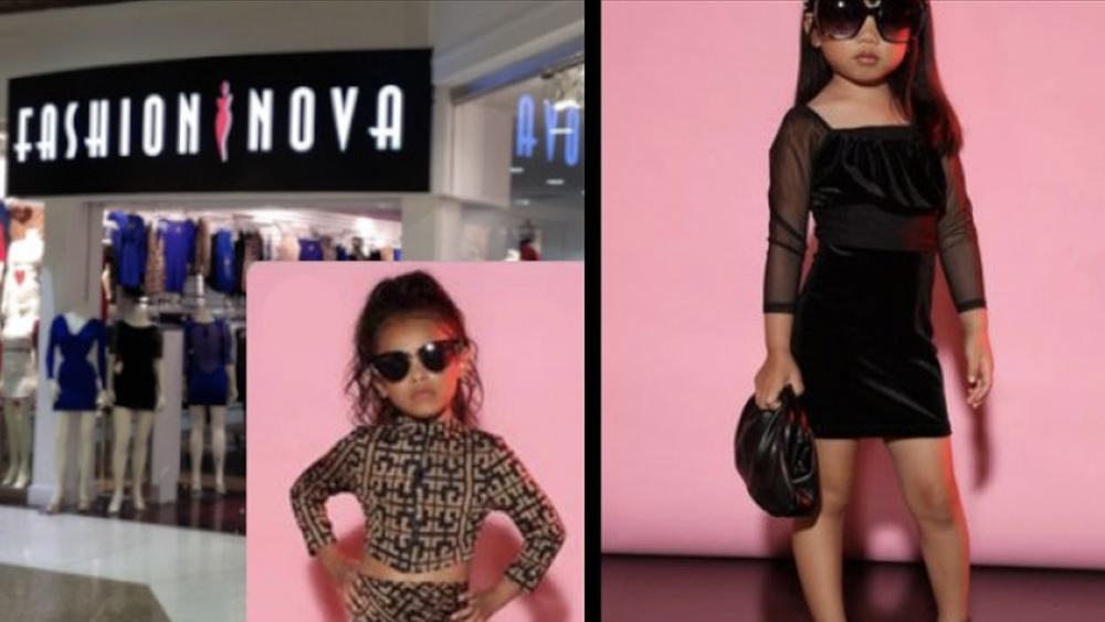 Image: Fashion Nova launches what looks like a pedophile clothing line for little girls