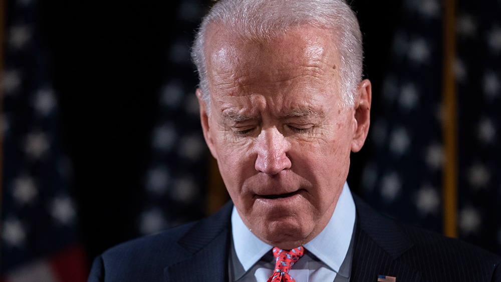 Image: Biden's 'shoot them in the leg' comment draws backlash from policing experts
