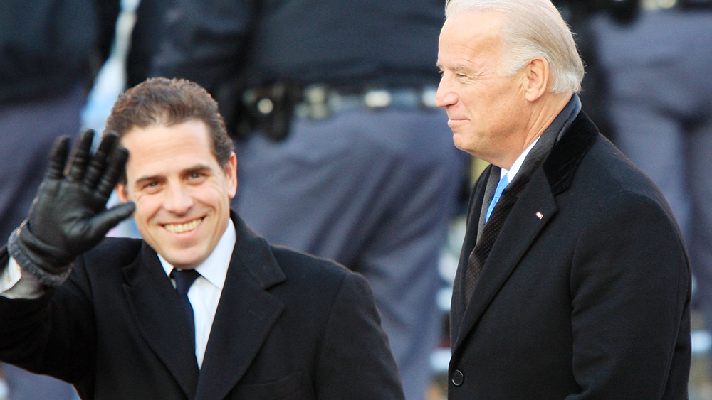 "Image: Former NYPD commissioner says Joe and Hunter Biden ""belong in handcuffs"""