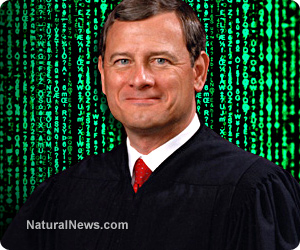 Image: SELLOUT Justice Roberts betrays again, allows Democrats to count Pennsylvania mail-in ballots 3 days after the election