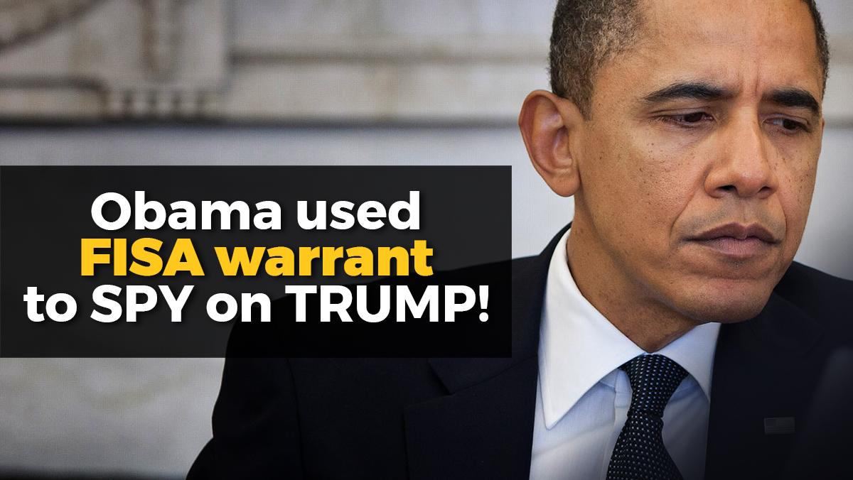 "Image: Obama knew! Bombshell new evidence implicates former president in ""Russian collusion"" hoax to depose duly elected Trump"