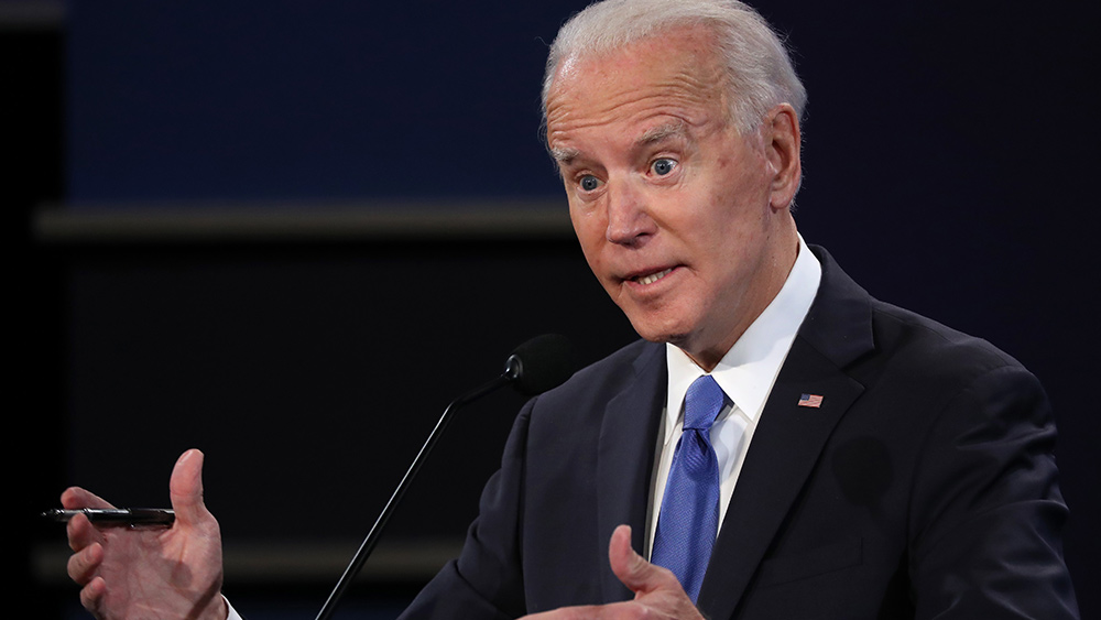 Image: Joe Biden touts 'most extensive and inclusive voter fraud organization in history of American politics'