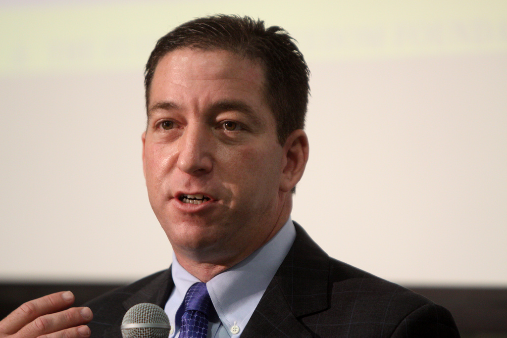 Image: Left-wing journalist Glenn Greenwald devastates fake news media and deep state in blistering critiques