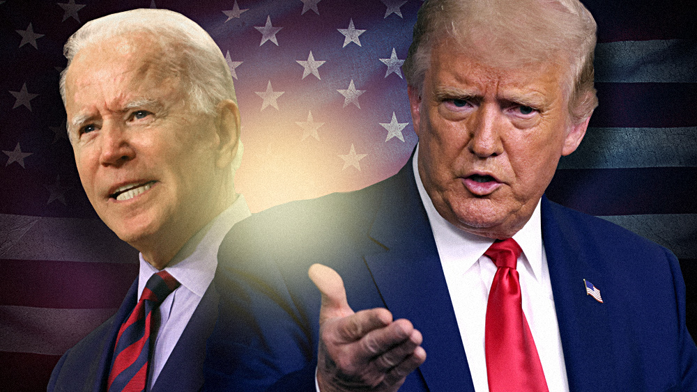 Image: Trump delivers on his promise, posts video of Biden criticizing fracking: 'Here you go,' Joe