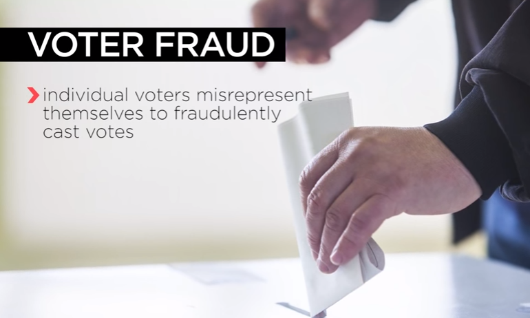 Image: Tell-tale signs of voter fraud that suggest Biden stole election