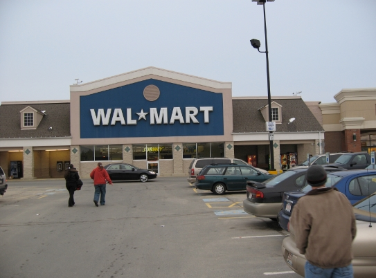 Image: Walmart removes guns and ammo from displays, citing possibility of civil unrest