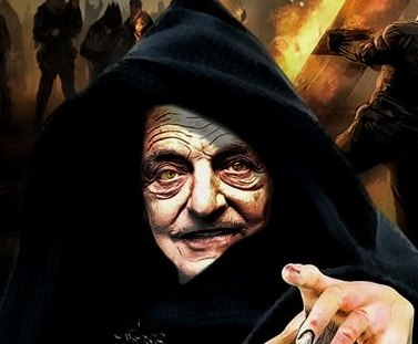 Image: George Soros trumped American democracy by rigging election for Biden