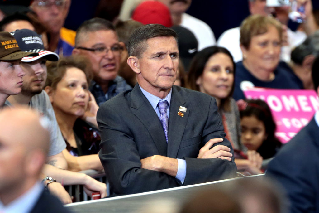 Image: Ret. Gen. Michael Flynn tweets call for Trump to declare martial law, order new US election