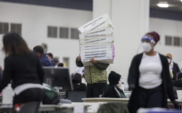 Image: Michigan witness claims military ballots looked like Xerox copies – all for Biden