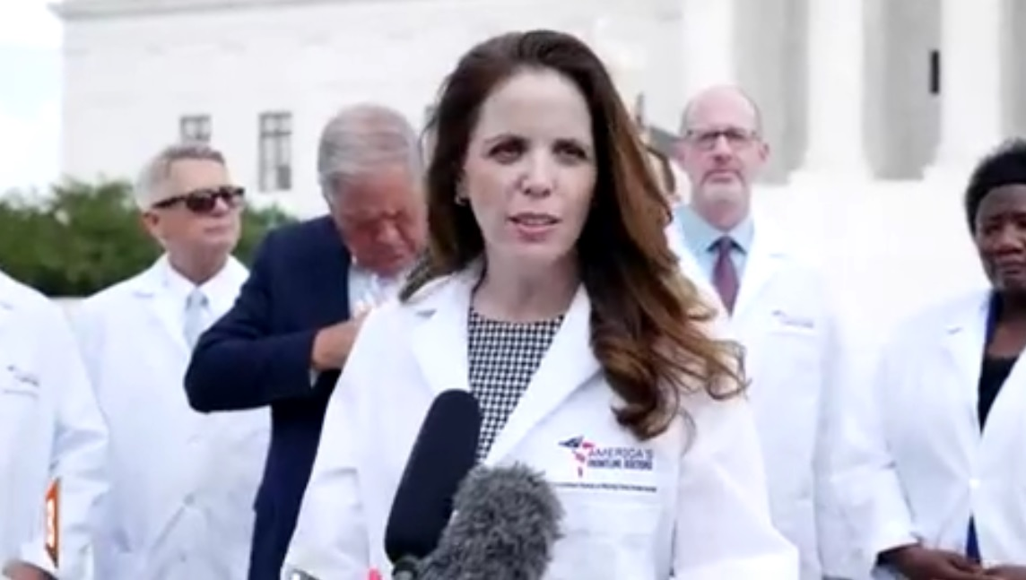 "Image: Simone Gold, who advocated hydroxychloroquine as a remedy for coronavirus, arrested in connection to Capitol ""riot"""