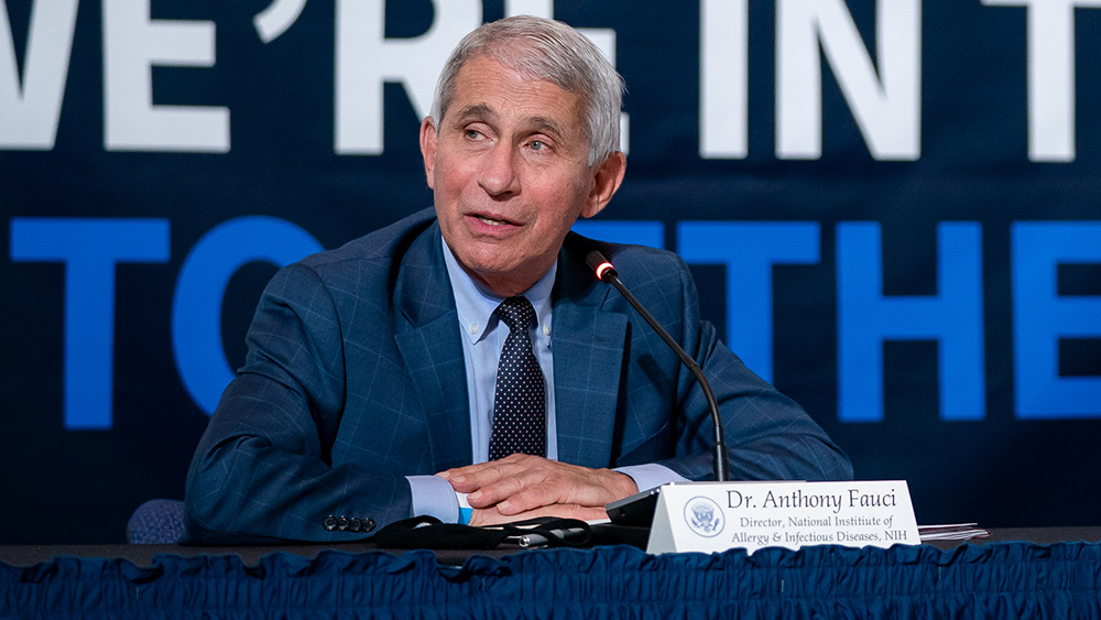 Image: Anthony Fauci finally acknowledges that China played significant role in early spread of coronavirus