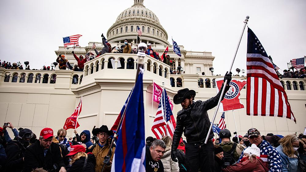 Image: Major events show CNN complicit in Capitol raid