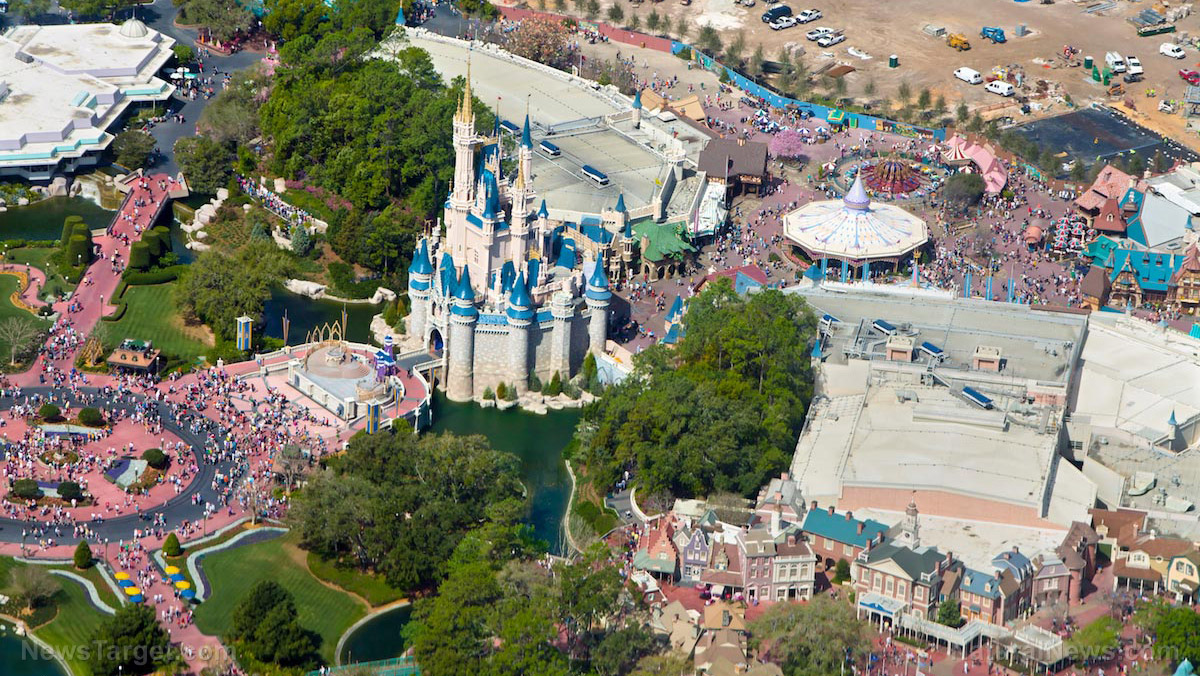 Image: Disneyland converted into mass COVID-19 vaccination site