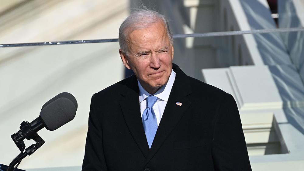 Image: Joe Biden pledges allegiance to the New World Order in 1992 article