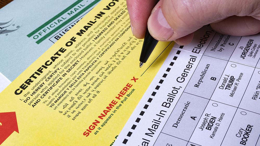 Image: RIGGED: Michigan print shop created fake ballots for Pennsylvania, other swing states
