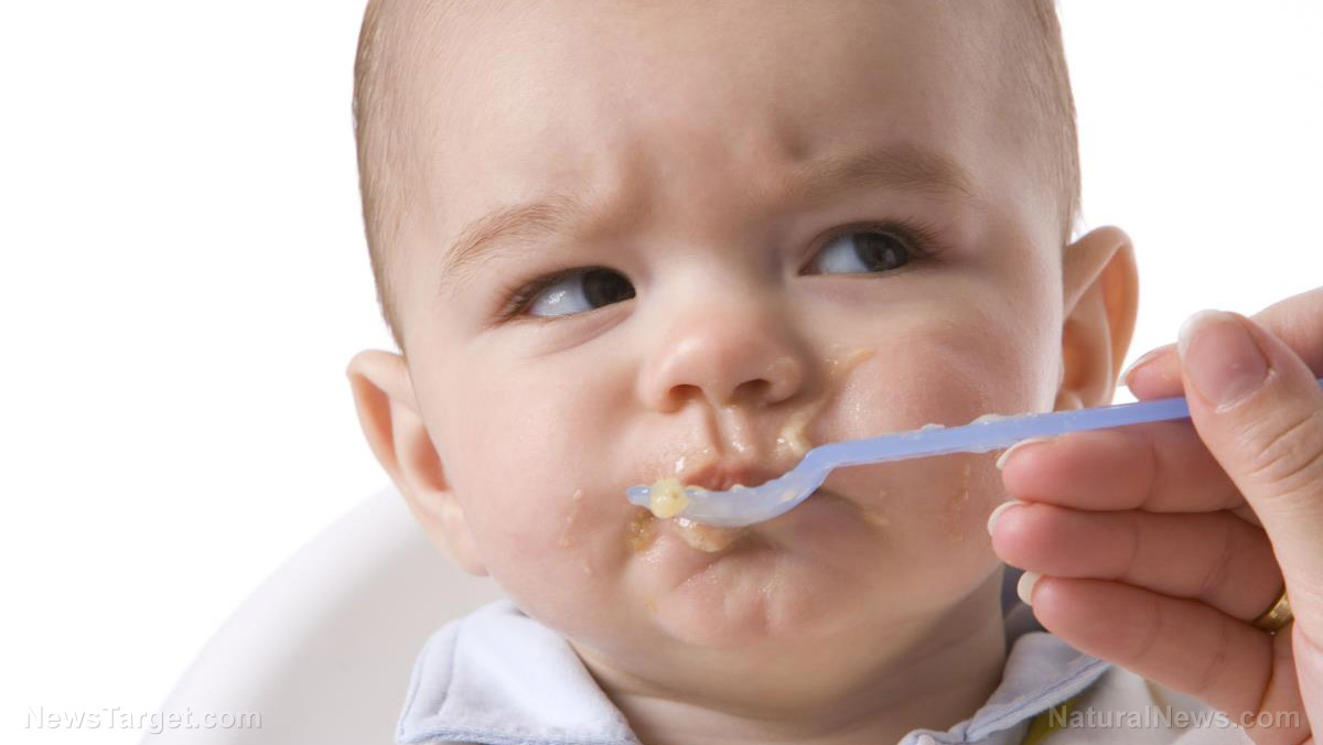 Image: Report: Toxic heavy metals found in some baby food