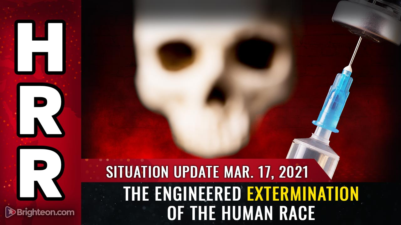 Image: Situation Update, Mar. 17th: How to survive the engineered EXTERMINATION of the human race