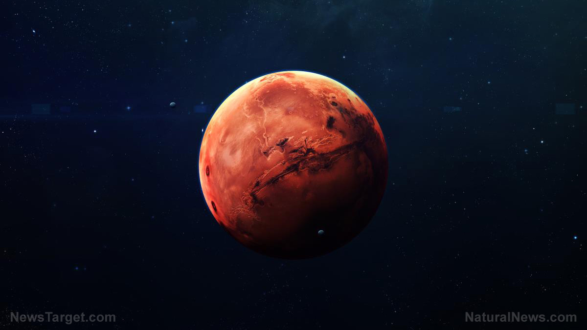 Study: Mars was once habitable; atmosphere likely formed through the same process as Earth's