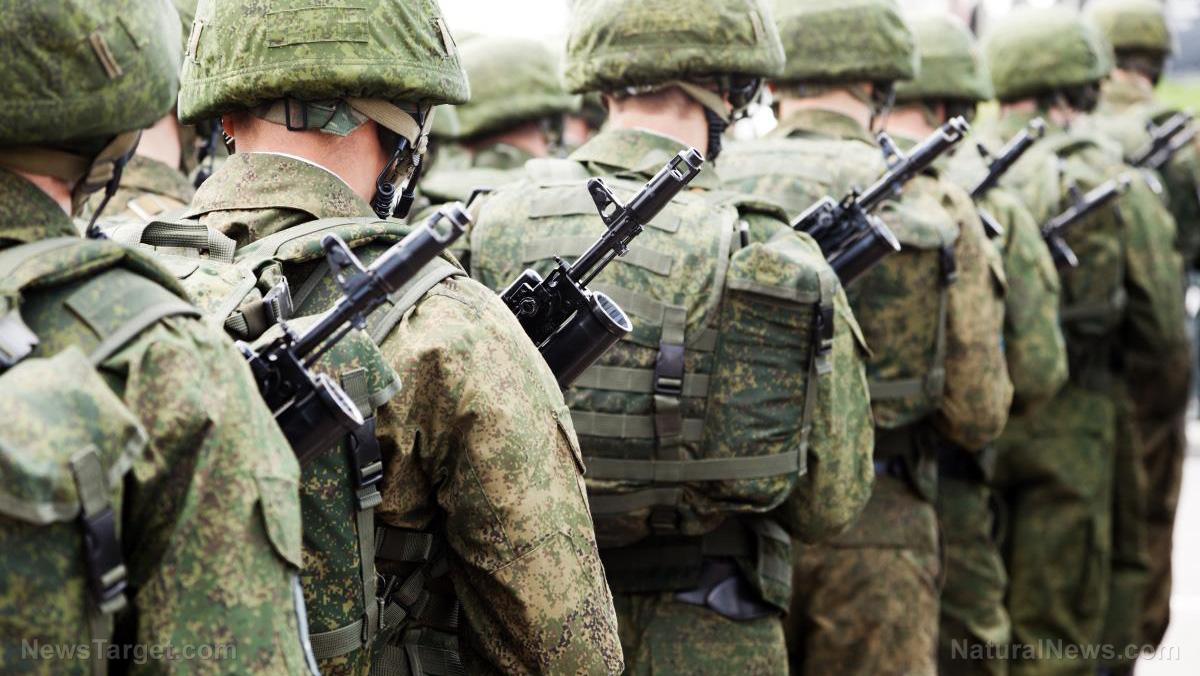 Image: Toxic food making National Guard servicemen sick, whistleblower reveals
