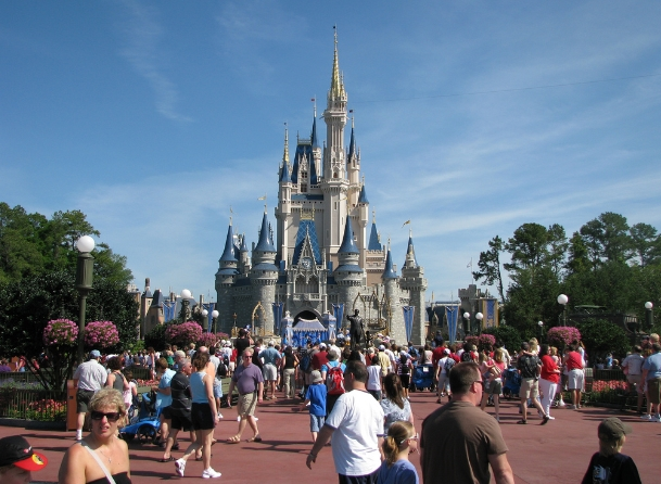 Image: Magic Kingdom of TYRANNY: Disney now ARRESTING its own guests who refuse covid temperature checks