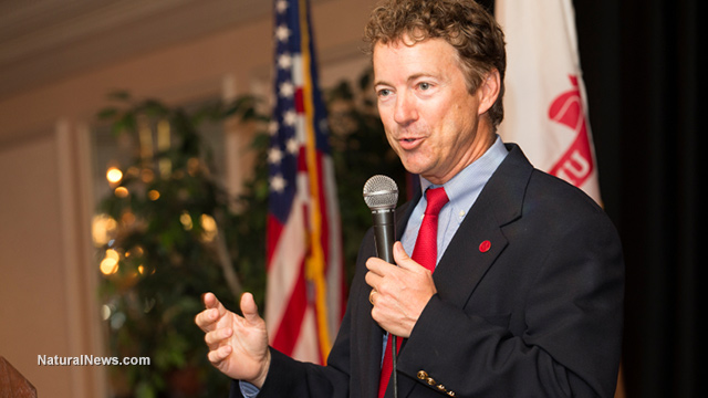 Image: 'Throw away your masks and burn your vaccine passport': Rand Paul