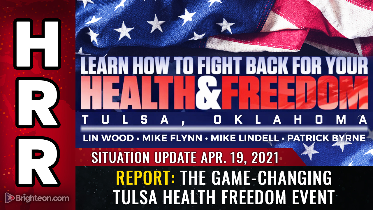 Image: Amazing update from the Health and Freedom event at Tulsa: Videos, updates, interviews and more