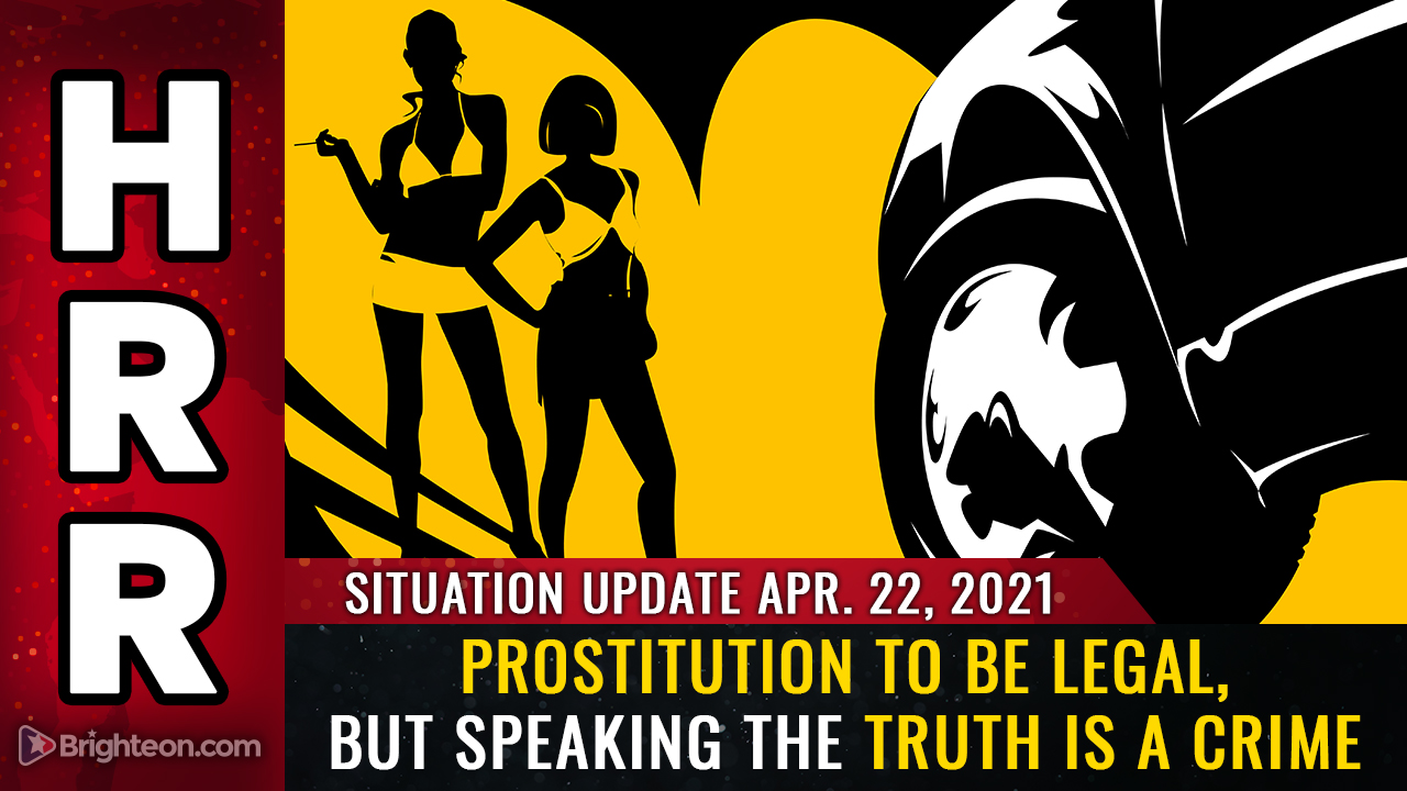 April 22nd: Prostitution to be LEGAL in NYC, but speaking the truth is a CRIME everywhere