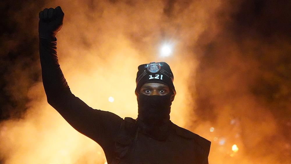 Image: Russia warns of anti-white 'aggression' in U.S.