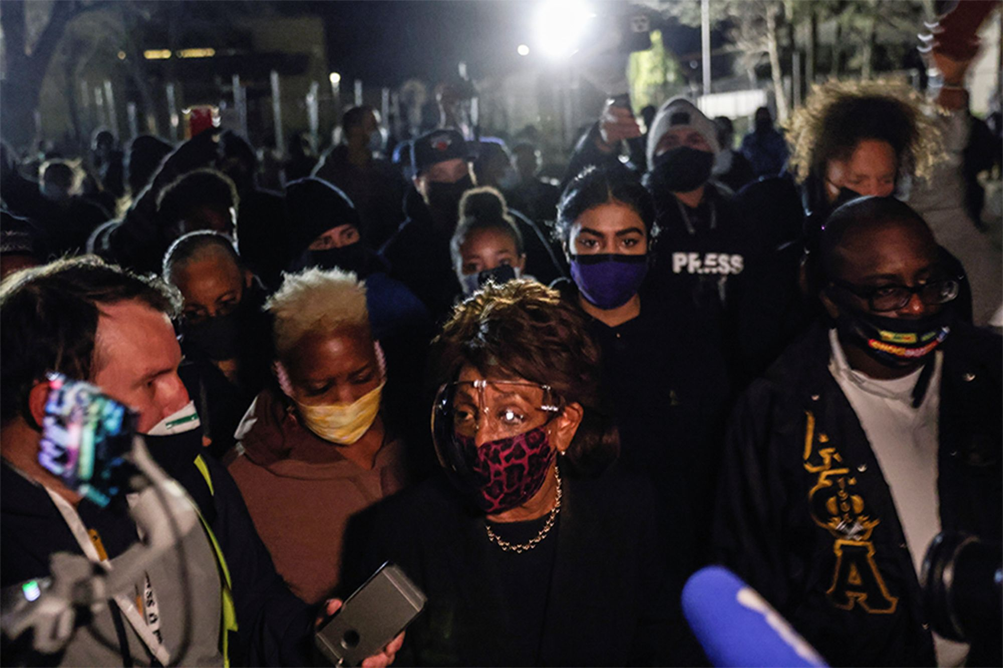 Image: Maxine Waters incites riots on Minneapolis streets and torches rule of law
