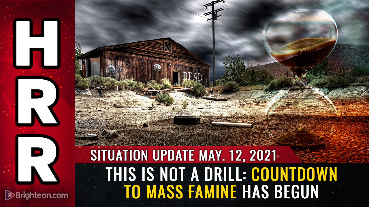 Image: This is NOT a drill: Countdown to mass FAMINE has begun, and people you know will starve and die