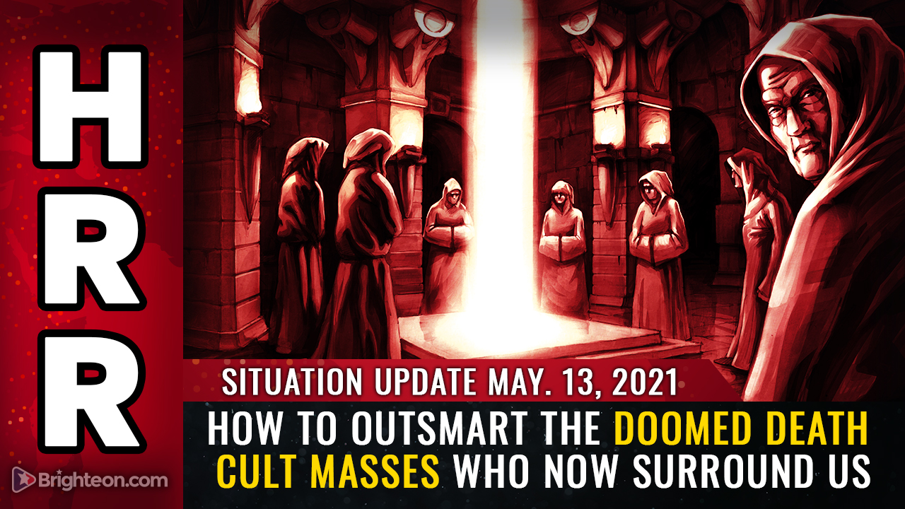 Image: How to outsmart the doomed DEATH CULT masses who now surround us