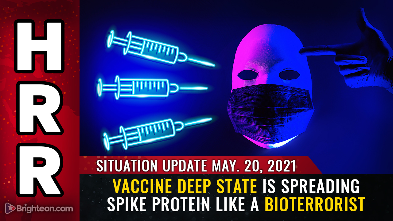 Image: The VACCINE DEEP STATE is spreading spike protein particles in acts of terrorism to perpetuate the plandemic