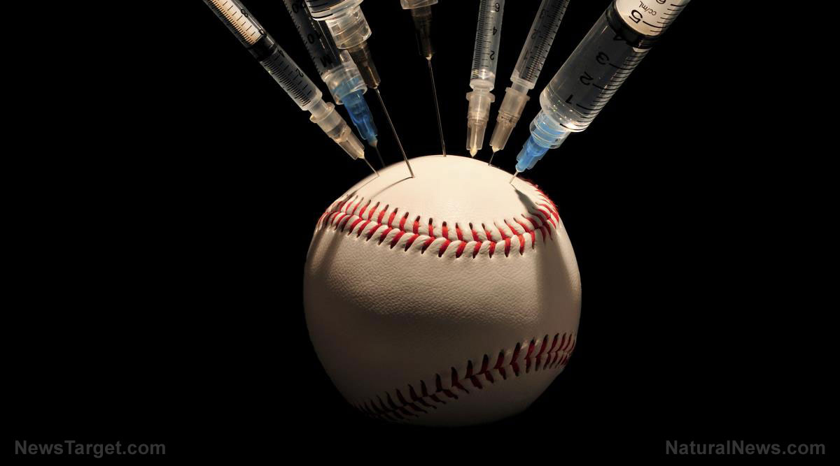 Image: Covid wave hits Yankees players who were already vaccinated, proving yet again that vaccines are spreading spike protein particles