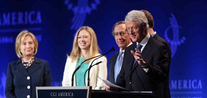 Image: Chelsea Clinton calls for coordinated global war against vaccine skeptics