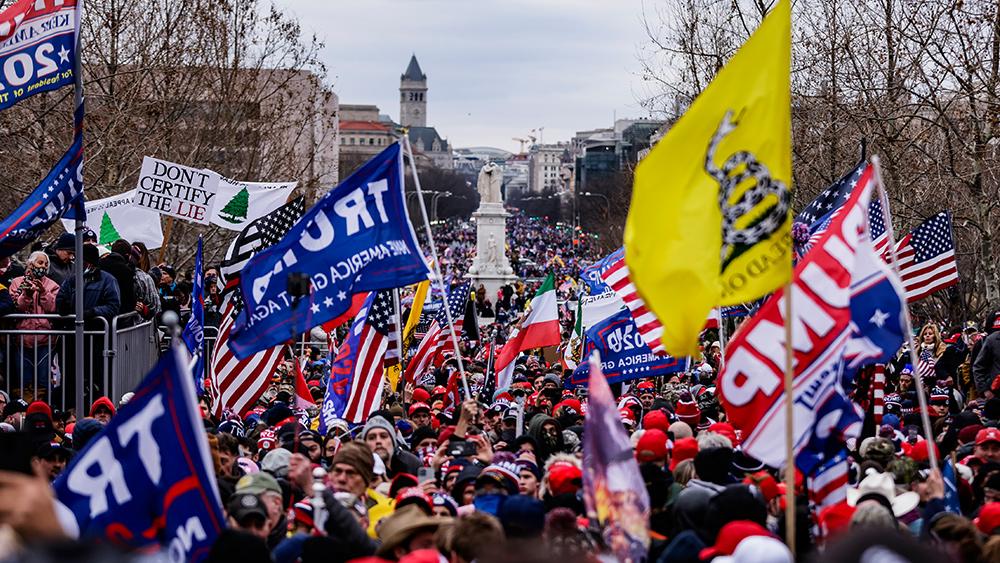"Image: Tucker: Jan. 6 ""insurrection"" organizers were FBI assets"
