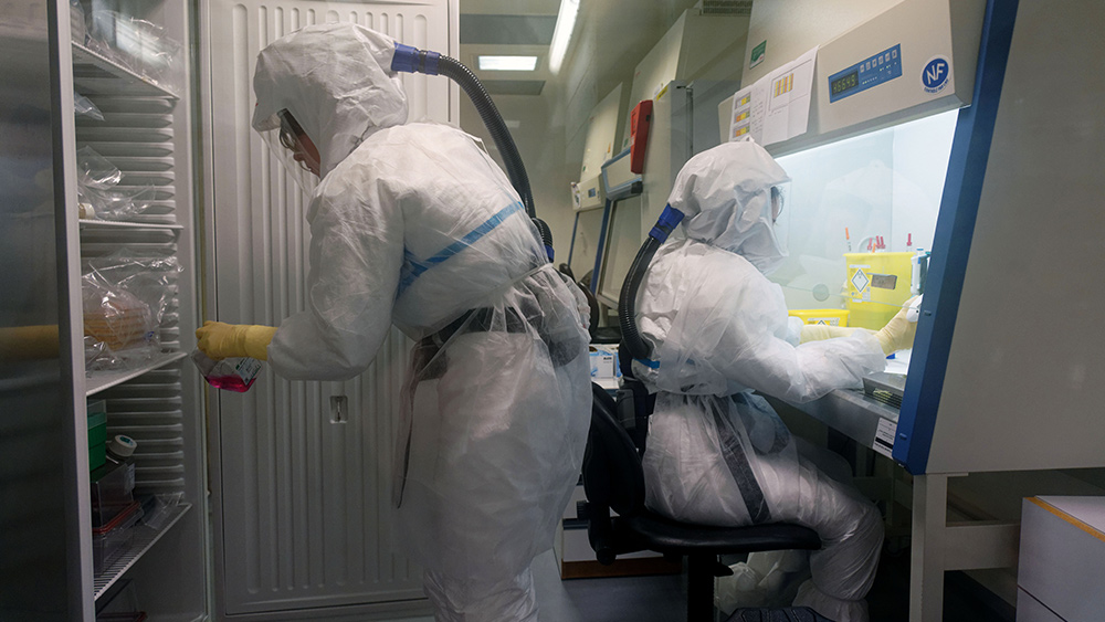 """Image: Covid bioweapons """"bag man"""" Peter Daszak outed by The Lancet for failing to disclose his competing financial interests"""