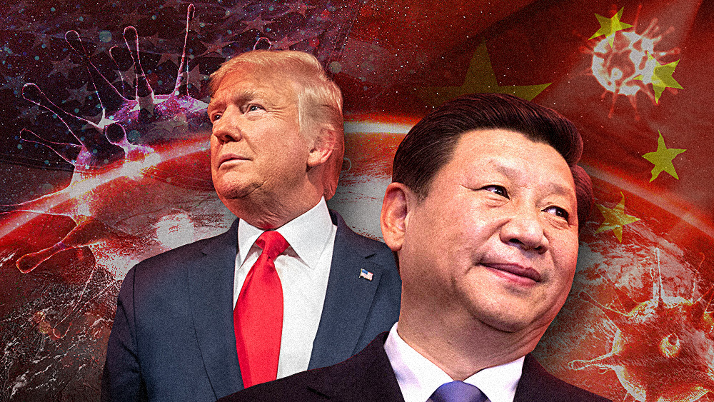 """Image: Trump demands that China pay """"$10 trillion"""" to the world in COVID-19 reparations"""