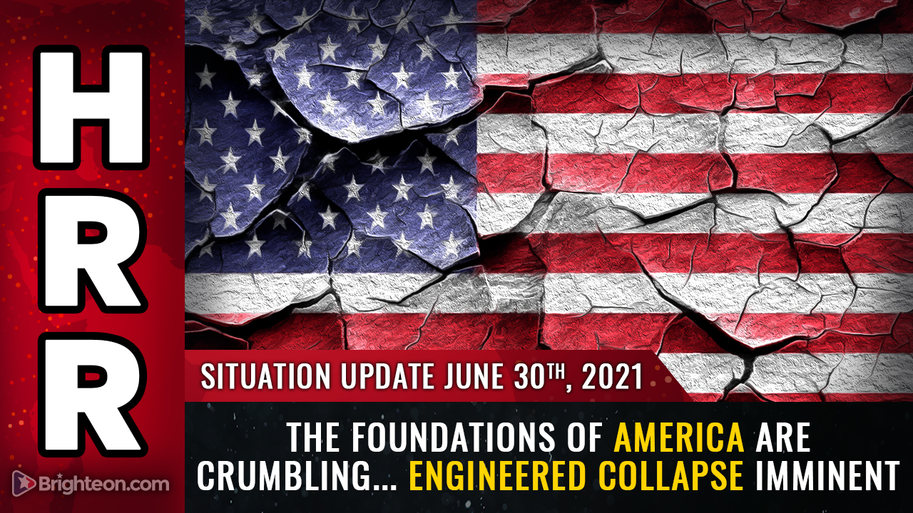 Image: The foundations of America are crumbling, and without them, the nation will soon fall