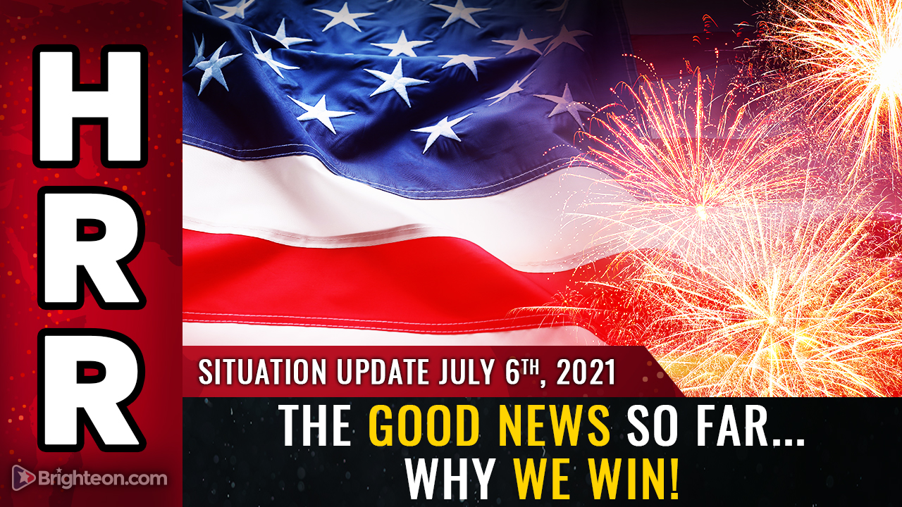 Image: The GOOD NEWS so far… reasons to be optimistic about the final victory against globalism, satanism and tyranny