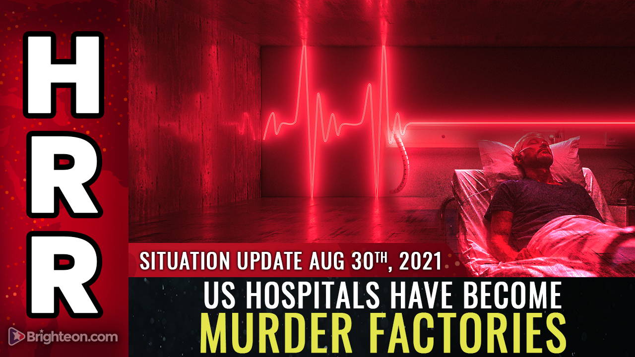 Image: Under covid tyranny, US hospitals have become MURDER FACTORIES where ivermectin is forbidden because it saves lives